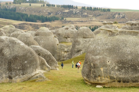 Elephants rocks en North Otago