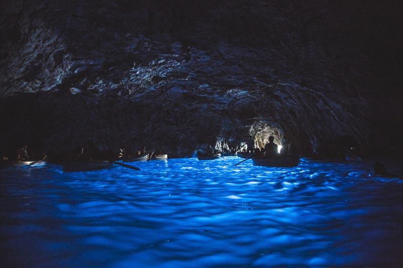 Gruta Azul en Capri