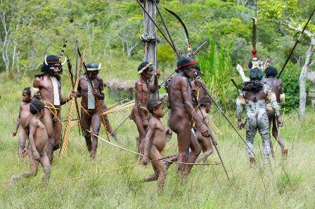 Los Dani-Papua Indonesia
