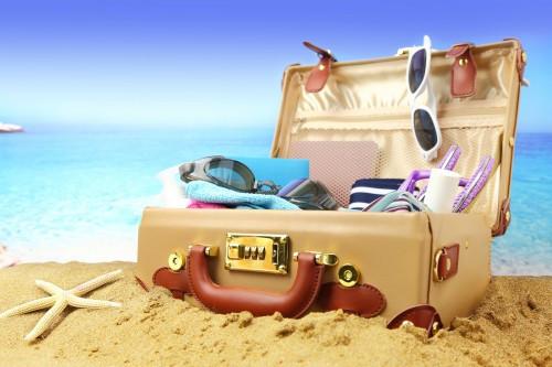 maleta de vacaciones