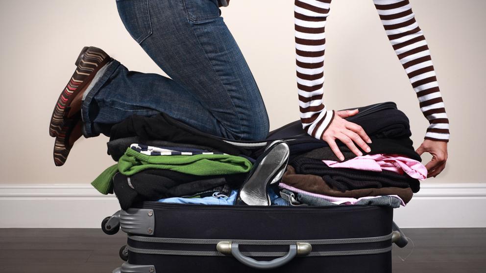 maleta imposible de cerrar