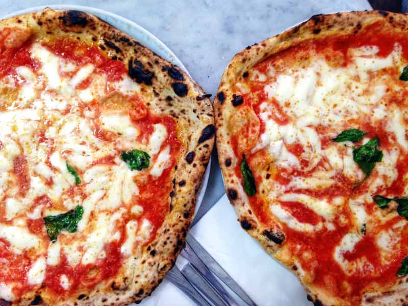 Pizza Napolitana de Da Michele