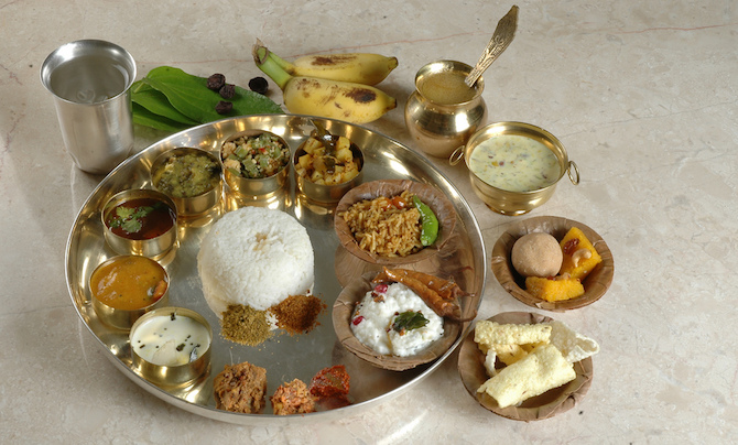 Thali-vegetariano