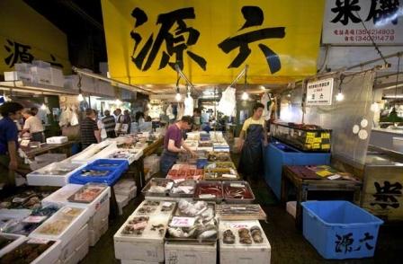 tsukiji market en tokio