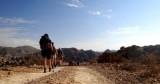 Jordania trekking: descubriendo a pie el Valle de la Luna