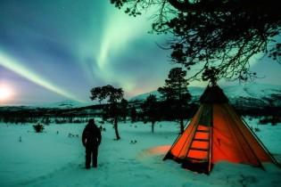 Noruega: Lofoten, auroras boreales y trineos de perros en Abisko - S. Santa