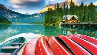 Canada Oeste: Rocosas, costas e Isla de Vancouver