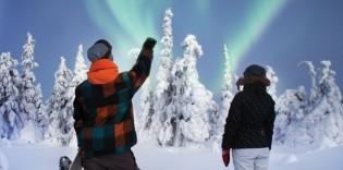 Finlandia: Trineo de perros, motonieve y raquetas de nieve