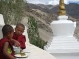 India tibetana y Rhajastan