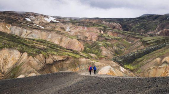 Viaje trekking a Islandia Landmannalaugar