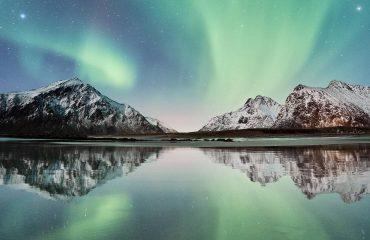 Auroras boreales en Lofoten y Kiruna