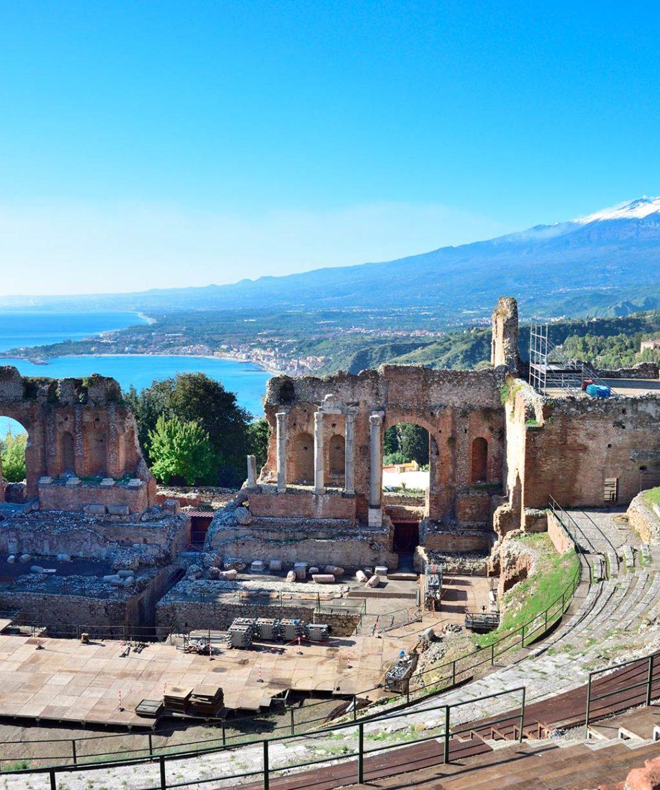Viaje a Sicilia, monte Etna