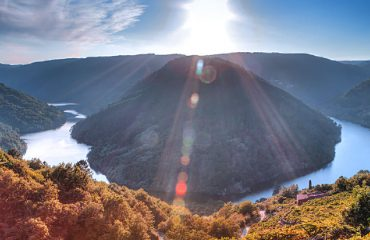 Cabo do mundo-Ribeira sacra